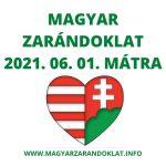 MAGYAR ZARÁNDOK TÚRA 2021. 06. 01. MÁTRA